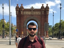 Josh #1 on our first day in Barcelona. We flew in days after the terrorist attack on Las Ramblas.
