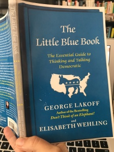 I read a couple Lakoff books in 2017. The strict father nurturing parent lens had since come part of my worldview. Essential reading for political organizing.